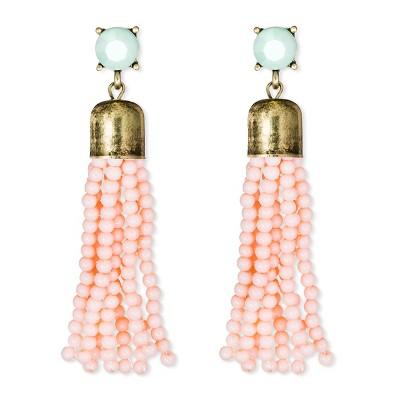 SUGARFIX by BaubleBar™ Beaded Tassel Earrings – Pink