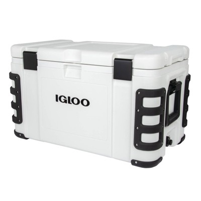Igloo Leeward Hard Sided 72qt Portable Cooler - White