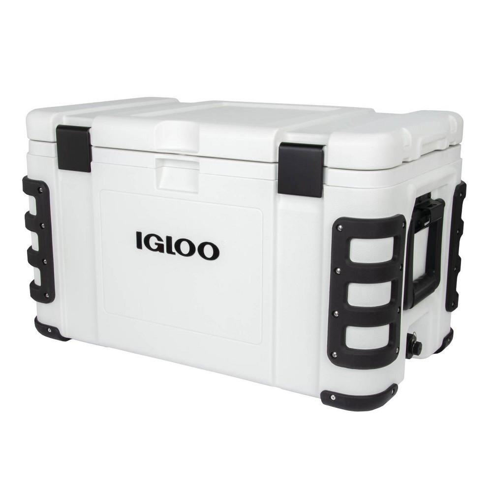 Best Igloo Leeward Hard Sided  Portable Cooler - White