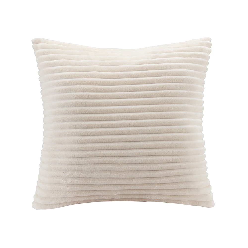 Throw Pillow, Ivory, Decorative Pillow