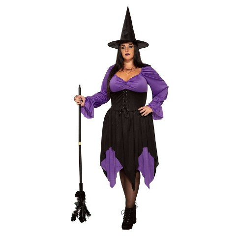 2aa5b40286c Women's Witch Halloween Costume 2X. Shop all Forum Novelties