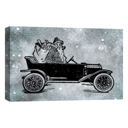 "To The Road Decorative Canvas Wall Art 11""x14"" - PTM Images - image 1 of 1"