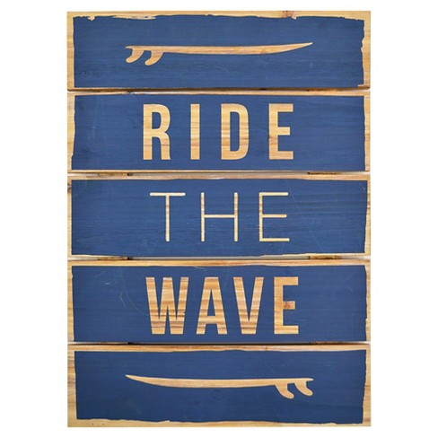 "Ride the Wave Wall Art (16""x22"") - Pillowfort™ - image 1 of 1"