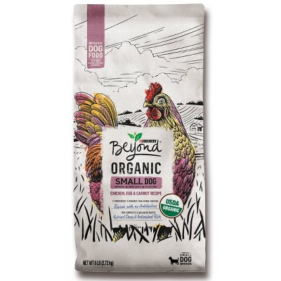 Purina Beyond Organic Small Dog Chicken, Egg & Sweet Potato Dry Dog Food