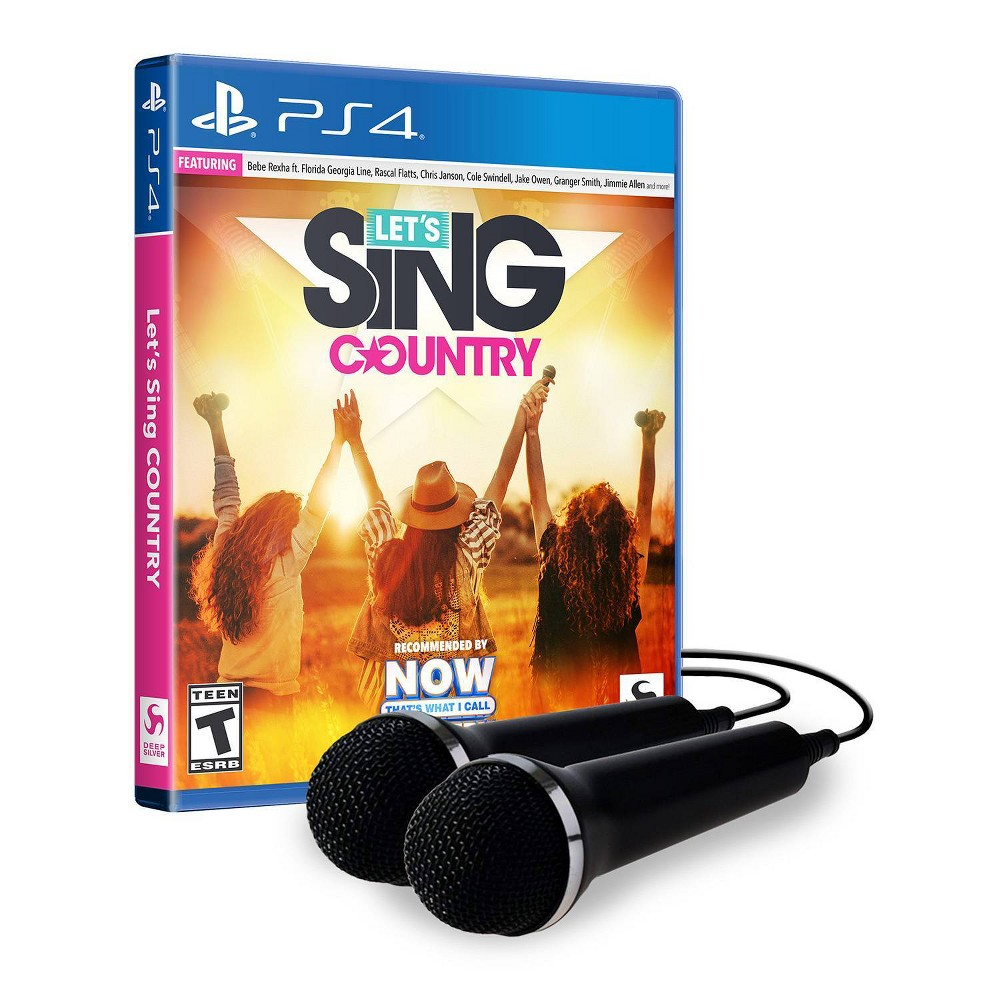 Let's Sing Country: Microphone Bundle - PlayStation 4