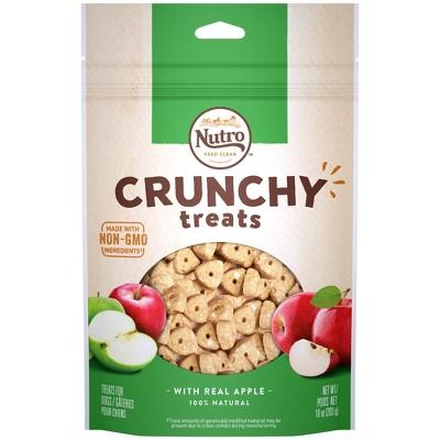Nutro Crunchy Apple Dog Treats - 10oz