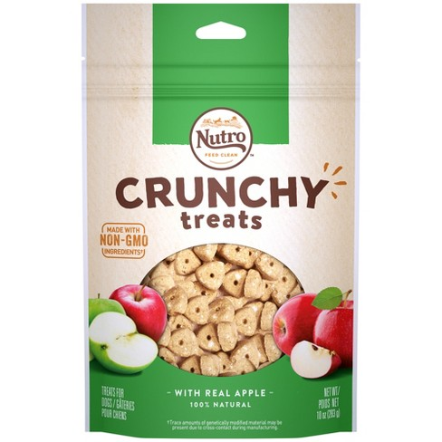 Nutro Crunchy Apple Dog Treats - 10oz - image 1 of 4