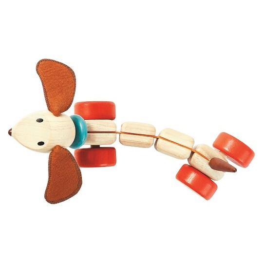 PlanToys Happy Puppy, push and pull toys image number null