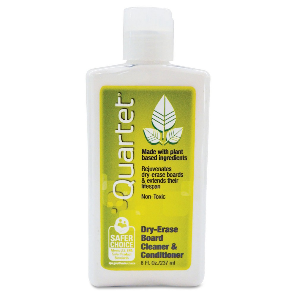 Quartet BoardGear Marker Board Conditioner/Cleaner for Dry Erase Boards, 8oz Bottle, White