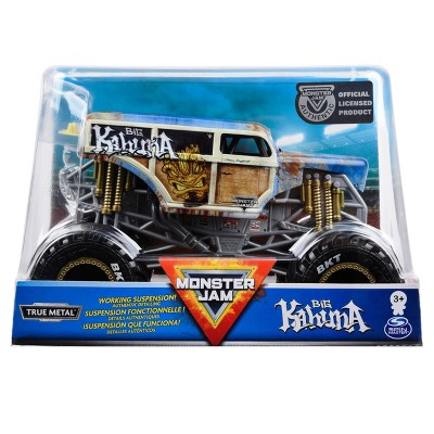 Monster Jam Official Big Kahuna Monster Truck Die-Cast Vehicle - 1:24 Scale