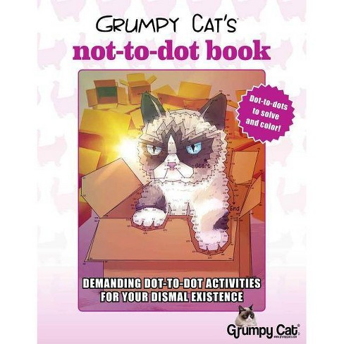 Grumpy Cat's Not-To-Dot Book - by  Diego Jourdan Pereira (Paperback) - image 1 of 1