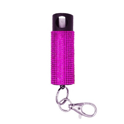 Guard Dog Security Bling it on Pepper Spray Pink