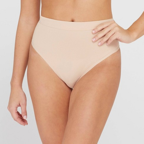 Assets® by Spanx® Women's All Around Smoothers Thong - image 1 of 3