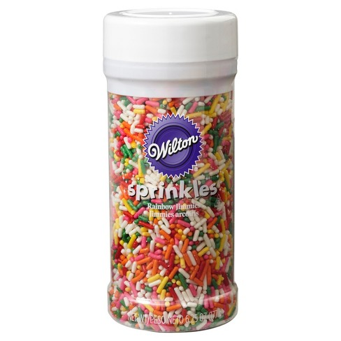 Wilton Rainbow Jimmies Sprinkles - 6.25oz - image 1 of 3