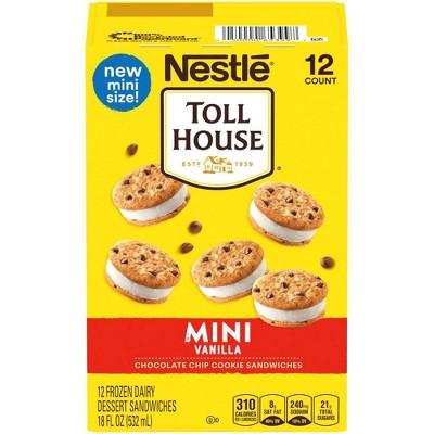 Toll House Mini Ice Cream Sandwiches - 12ct
