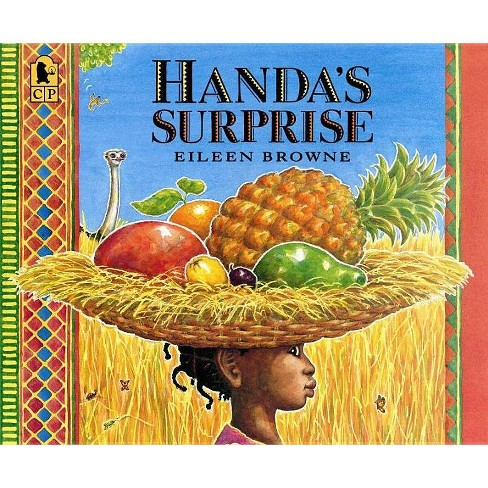 Handa's Surprise - (Reading and Math Together) by  Eileen Browne (Paperback) - image 1 of 1