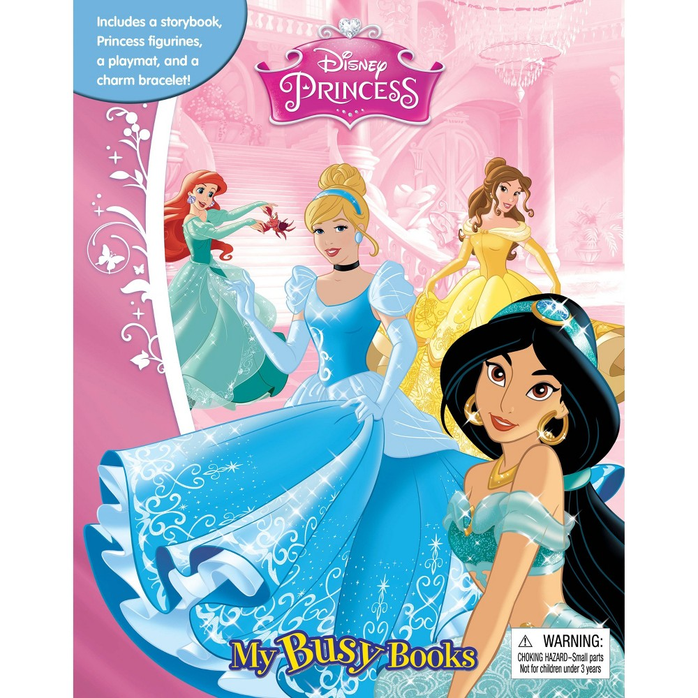 Disney Princess - My Busy Books (Hardcover)