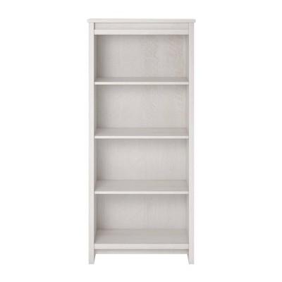 "60"" 4 Shelf Aldeen Bookshelf Ivory Oak - Room & Joy"