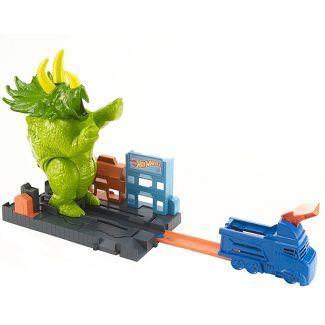Hot Wheels City Smashin Triceratops Vehicle