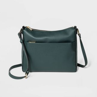 Mid-Size Crossbody Bag - A New Day™ Green Olive