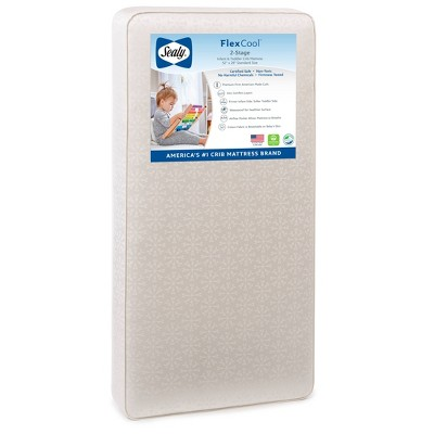 Sealy FlexCool 2-Stage Crib And Toddler Mattress