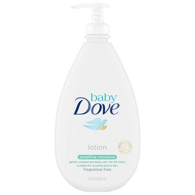 Baby Dove Sensitive Moisture Fragrance-Free Lotion - 20oz
