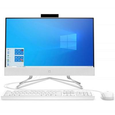 "HP 22 Series 21.5"" All-in-One Desktop Computer AMD Athlon 3050U 4GB RAM 256GB SSD Snow White - AMD Athlon 3050U Dual-core"