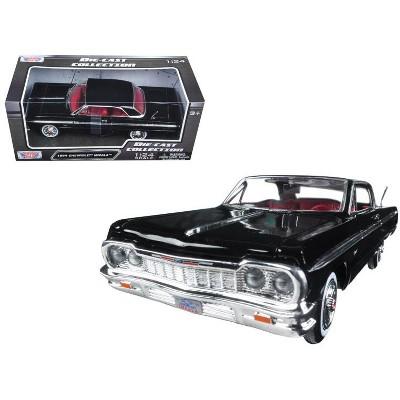 1964 chevrolet impala black 1 24 diecast model car by motormax target Toyota Toy Cars