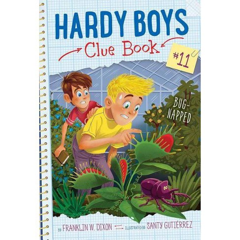 Bug-Napped - (Hardy Boys Clue Book) by  Franklin W Dixon (Hardcover) - image 1 of 1