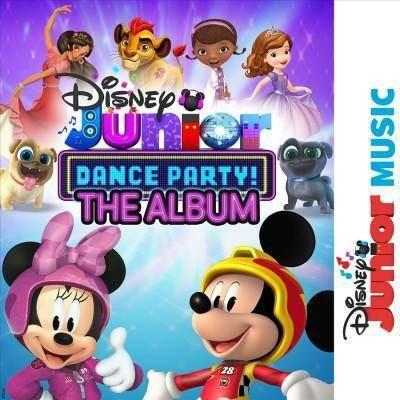 Various Artists - Disney Junior Music Dance Party (CD)