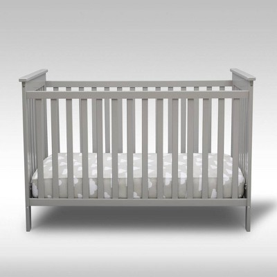Delta Children Adley 3-in-1 Crib - Gray