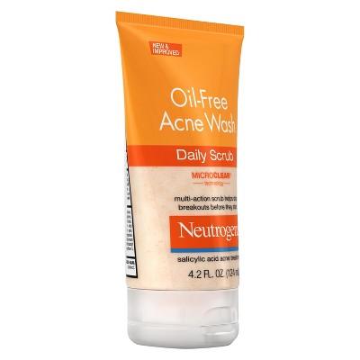 neutrogena acne face wash