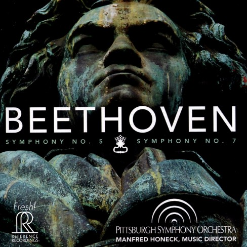 Pittsburgh symphony - Beethoven:Sym no 5 & sym no 7 (CD) - image 1 of 1