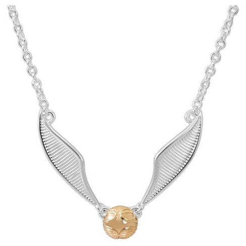 Girls' Harry Potter Snitch Pendant Necklace - image 1 of 1