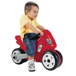 Step2 Motorcyle - Red, pedal and push riding toys