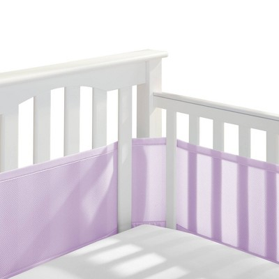 Breathable Baby Classic Breathable Mesh Crib Liner - New Lavender