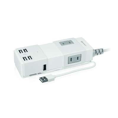 Macally 2-Outlet Portable Power Strip