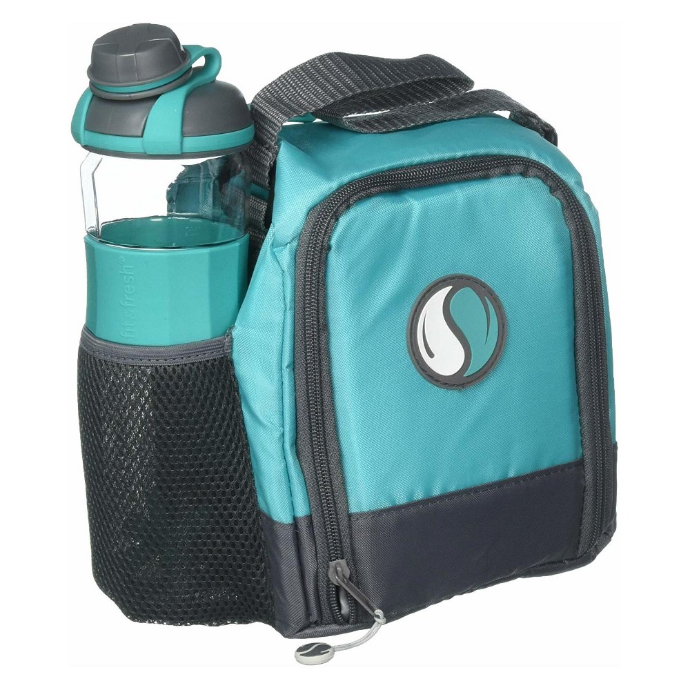 Image of Fit & Fresh Lunch Box Set - Teal, Blue