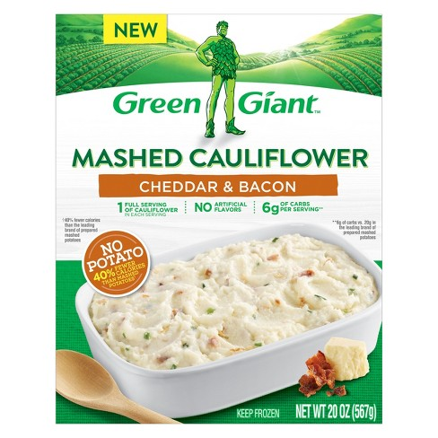 Green Giant Mashed Frozen Cauliflower Cheddar & Bacon - 20oz - image 1 of 3