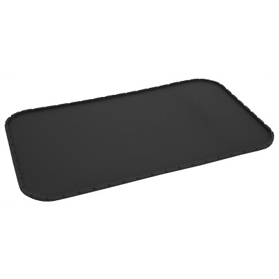 Feeding Mat for Pets - Faceted Black - Small - Boots & Barkley™