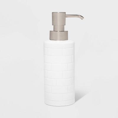 Tile Soap Pump White - Threshold™