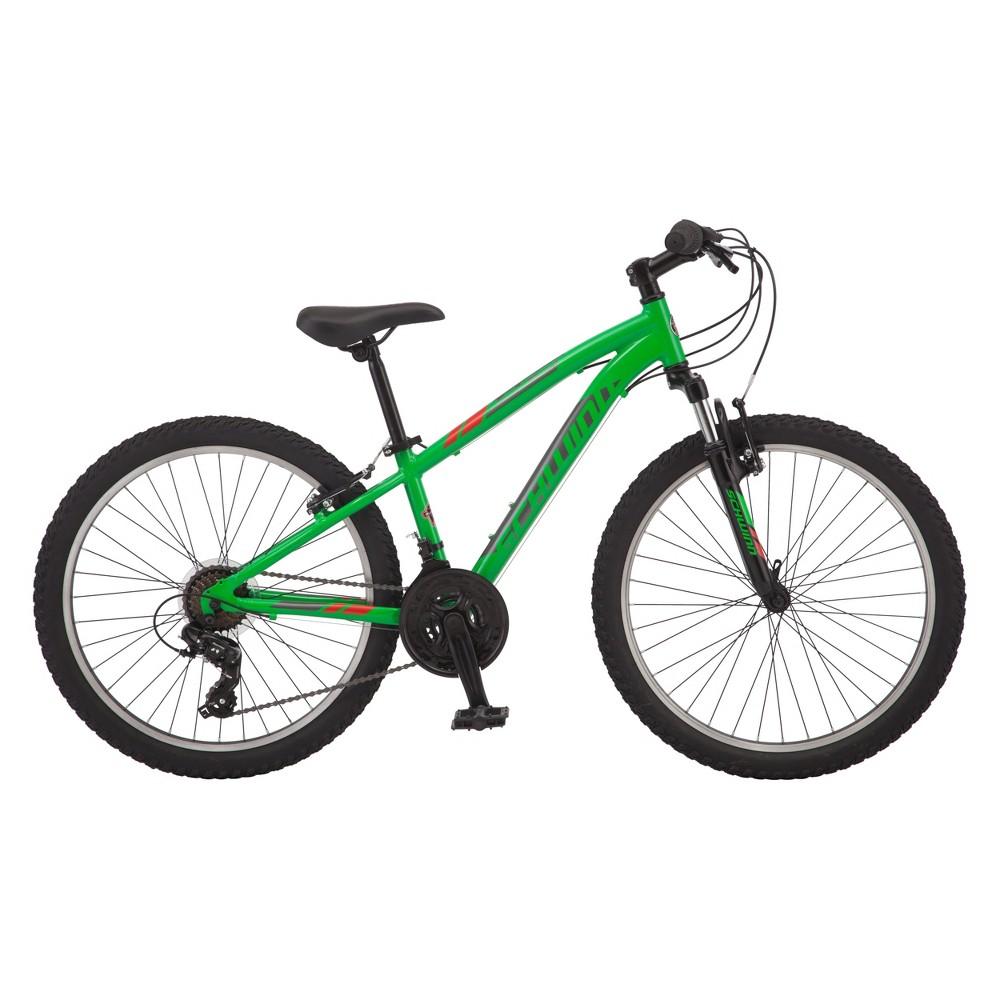 Schwinn Ranger 24 Kids Mountain Bike - Green