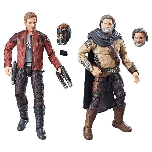Marvel Legends Guardians of the Galaxy Vol. 2 Marvel's Ego & Star-Lord 2pk - image 1 of 12