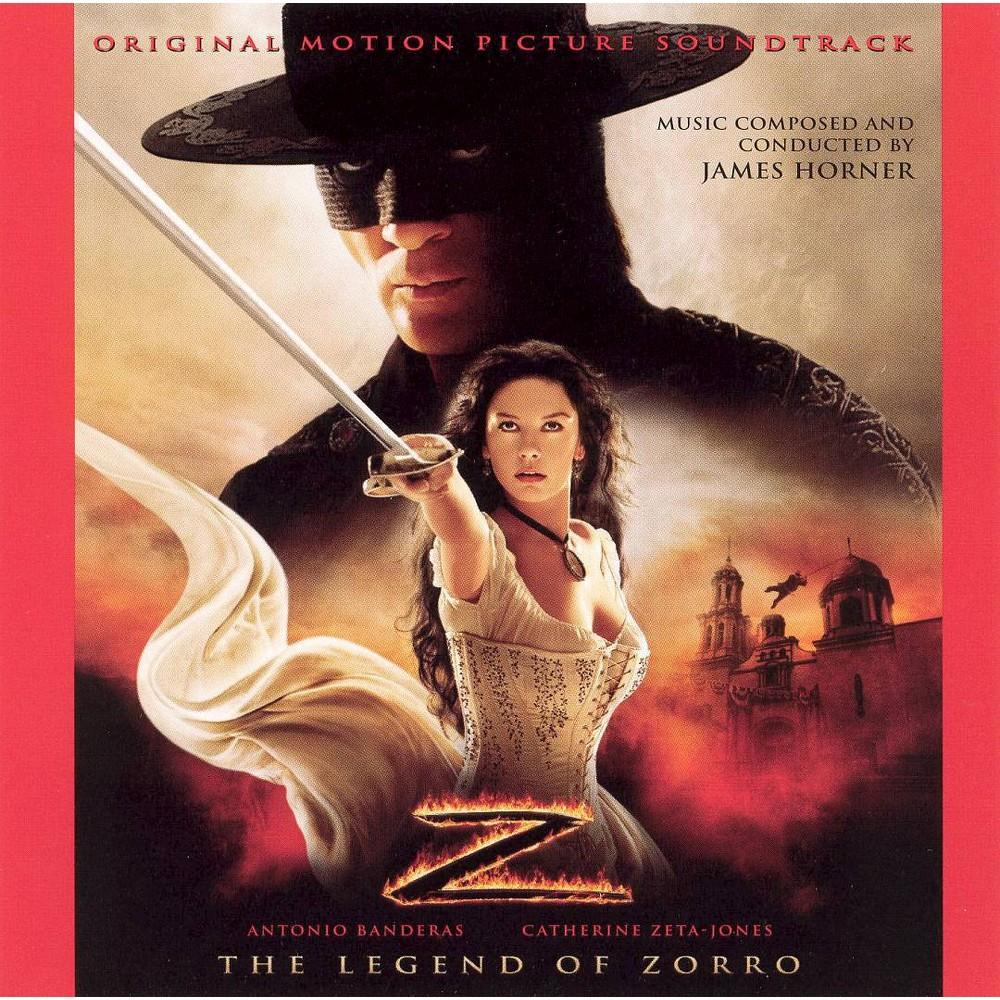Antonio banderas - Legend of zorro (Ost) (CD)