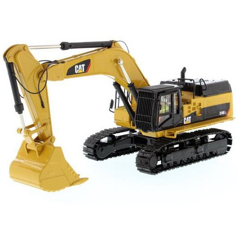 Cat Caterpillar 374d L Hydraulic Excavator With Operator High Line Series 1 50 Diecast Model By Diecast Masters Target