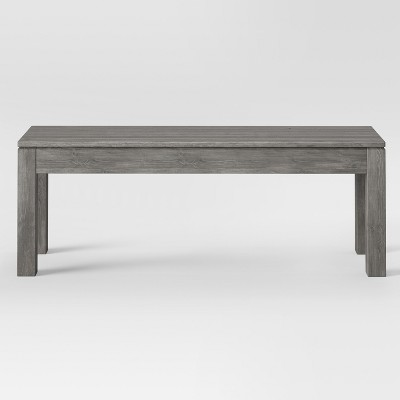 50  Grafton Dining Bench Gray - Threshold™