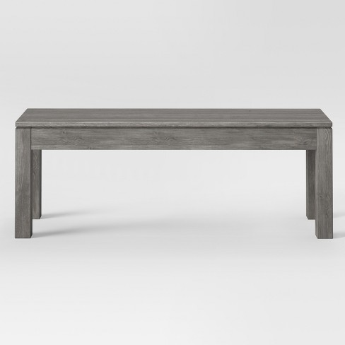 Awe Inspiring 50 Grafton Dining Bench Gray Threshold Uwap Interior Chair Design Uwaporg