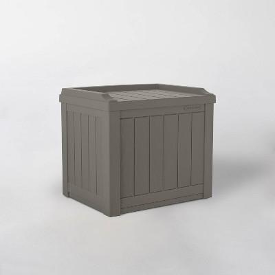 22gal Storage Seat Resin Deck Box - Suncast