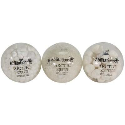 Abilitations Arctic Squeeze Fidget Balls, set of 3