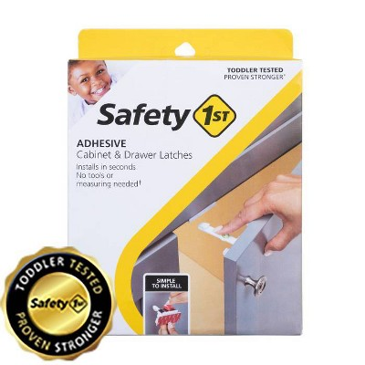 Safety 1st Adhesive Cabinet Latch for Childproofing